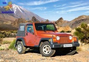 "Castorland: пазл ""Jeep WRANGLER"" 1000 эл."