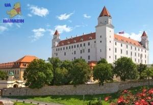 "Пазлы 1000 ""Братислава замок, Словакия"""