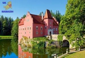 "Castorland: пазл ""Замок Cervena Lotha, Чехия"". 1000 эл."