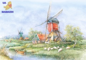 "Castorland: пазл ""Ландшафты Голландии"" 1000 эл."