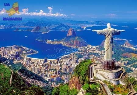 """Пазл 1000 """"Рио-де-Жанейро, Бразилия"""""""