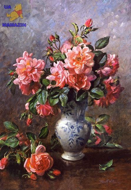 """Castorland: пазл """"Розы в китайской вазе"""", 1000 эл."""