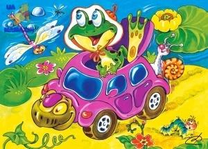 """Castorland: пазл """"Черепаха такси"""", 60 эл."""