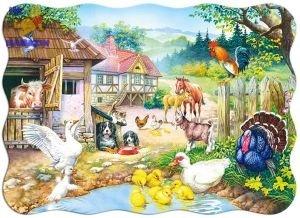 "Castorland: пазл ""Ферма"", 30 эл."