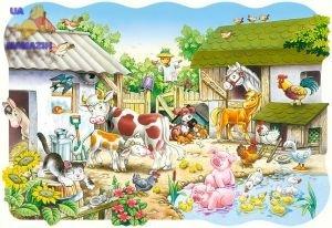 "Castorland: пазл maxi ""Ферма"", 20 эл."