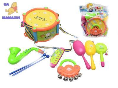 Набор музыкальных инструментов детских