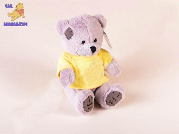 Медвежонок музыкальный Тедди в футболке