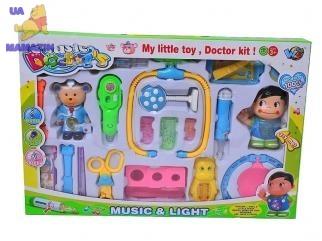 Набор доктора большой с куколками