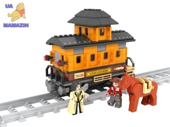 Конструктор Аусини ретро вагон