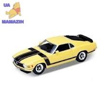 Сборная модель машинка металл 1:24 1970 FORD MUSTANG