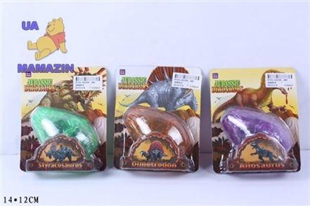 Конструктор яйцо с динозавром