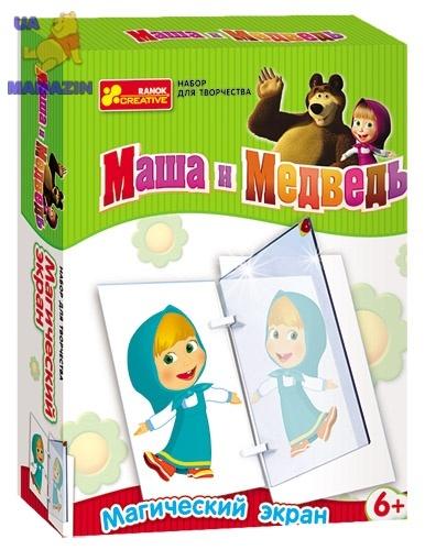 """Набор Магический экран """"Маша и медведь"""""""