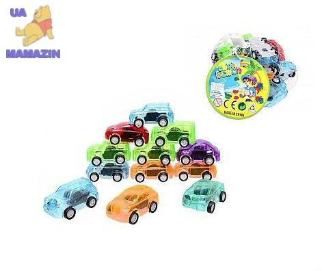 Машинки детские инерционные, 12 штук