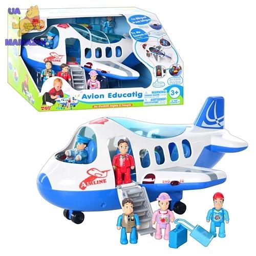 Игровой набор - Самолет музыкальный