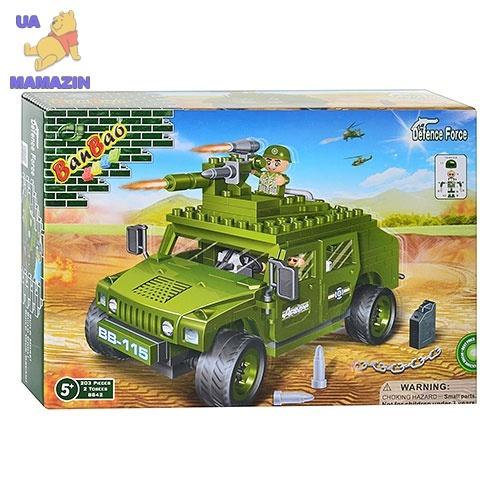Конструктор BANBAO военная машина