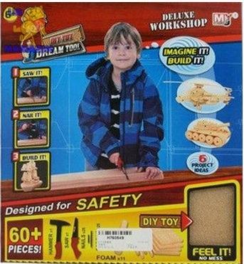 Коструктор деревянный