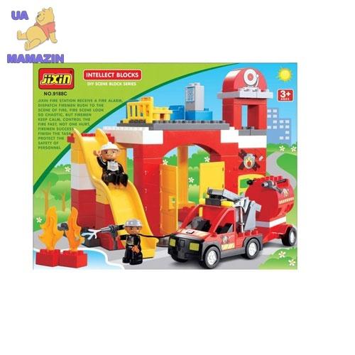 JIXIN :Конструктор Пожарная станция