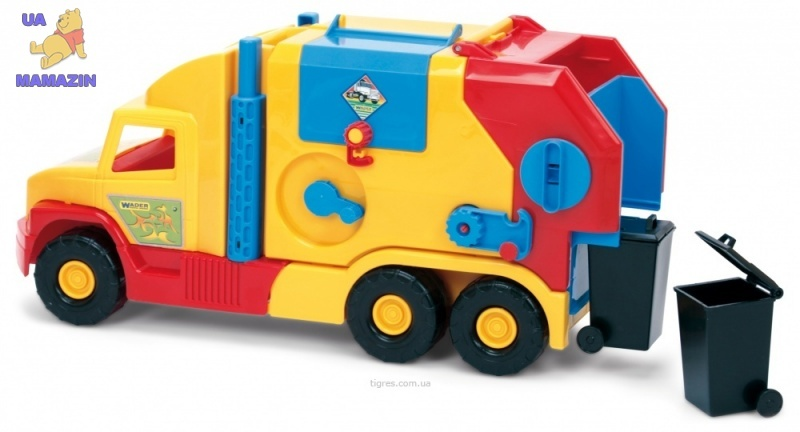 """Машина """"Super Truck"""" мусоровоз малый"""