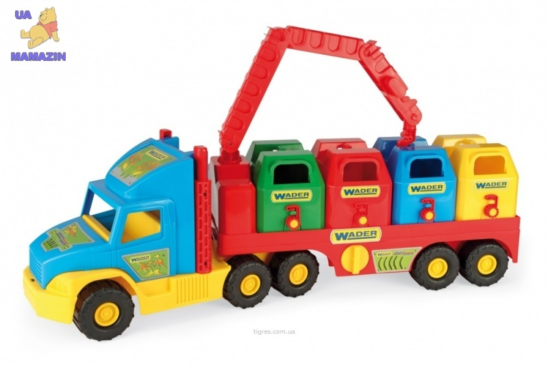 "Машина ""Super Truck"" мусоровоз Тигрес"