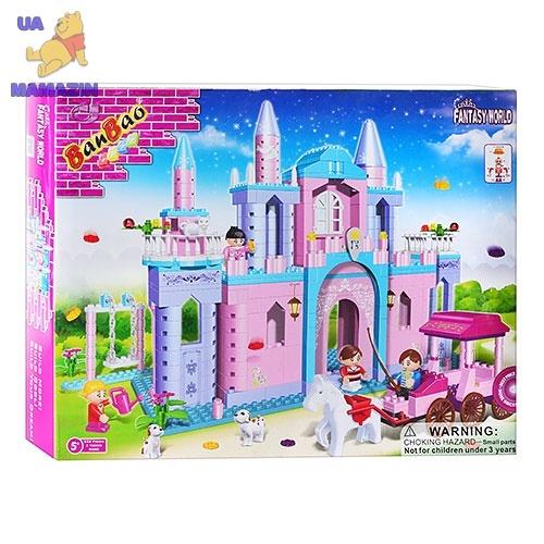 Конструктор BANBAO Замок принцессы