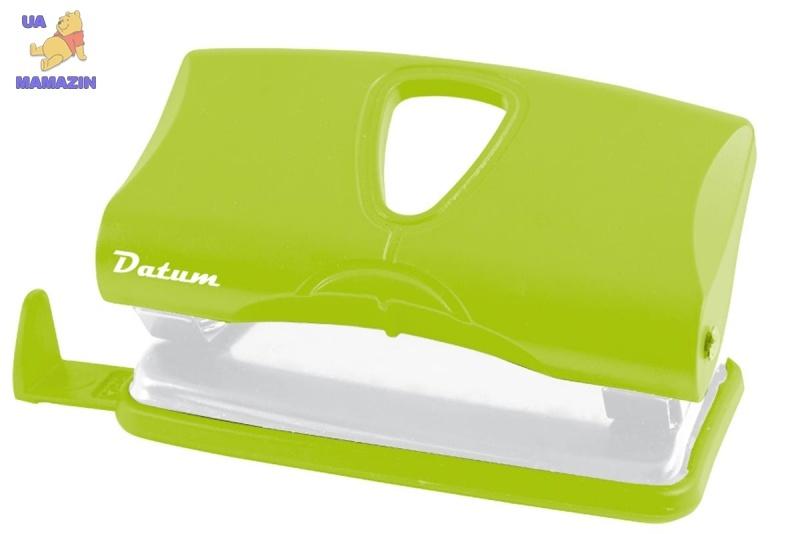 Дырокол 10л пласт. D1217-08 зеленый
