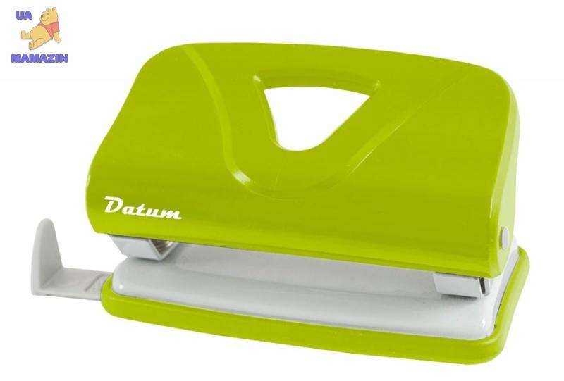 Дырокол 10л пласт. D1219-08 зеленый