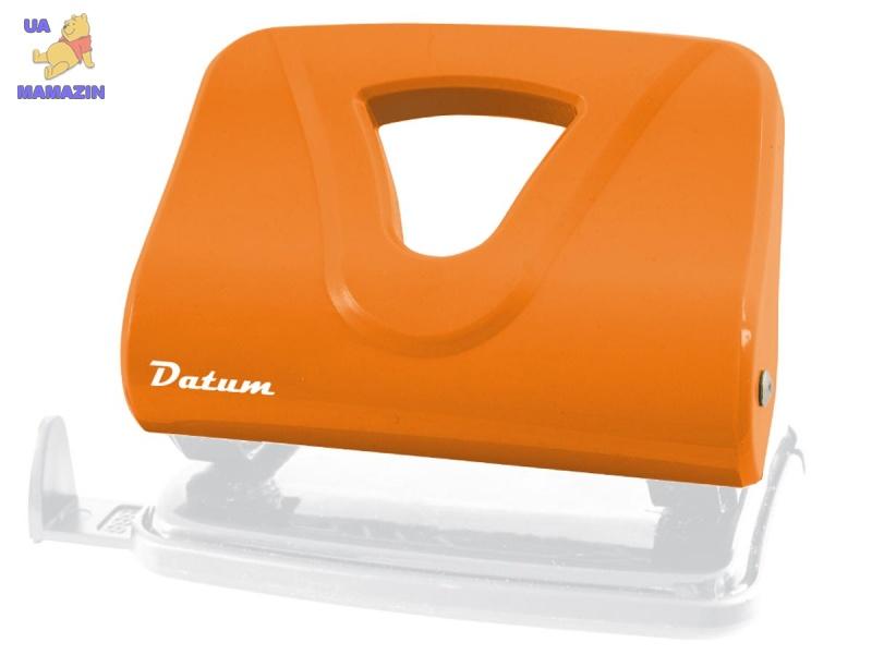 Дырокол 20л пласт. D1220-11 оранжевый