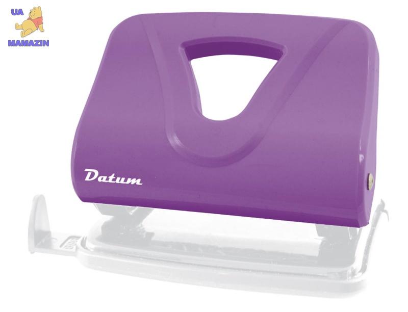 Дырокол 20л пласт. D1220-12 фиолетовый