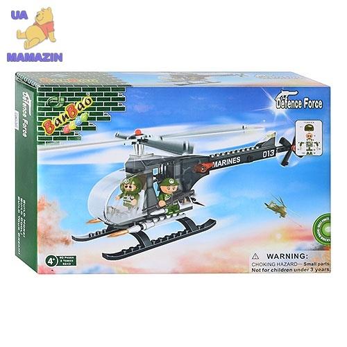 Конструктор BANBAO Военный вертолет, 90 деталей