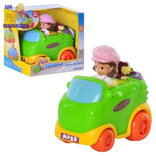 Игровой набор Девочка в авто