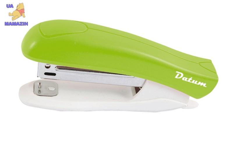 Степлер №10 12л пласт.D2022-08 зеленый