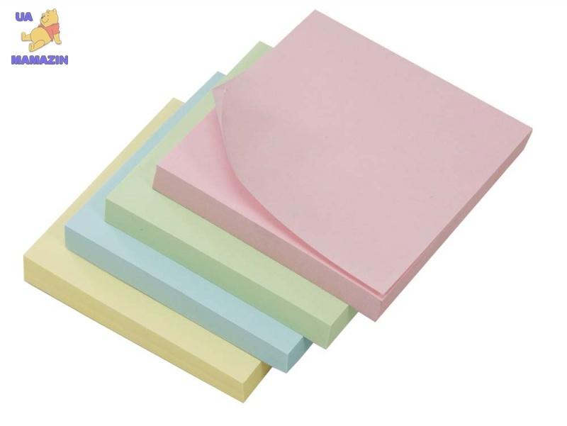 Бумага с липким слоем желтая