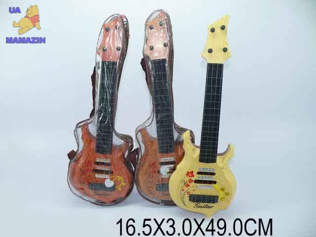 Гитара струнная с принтами