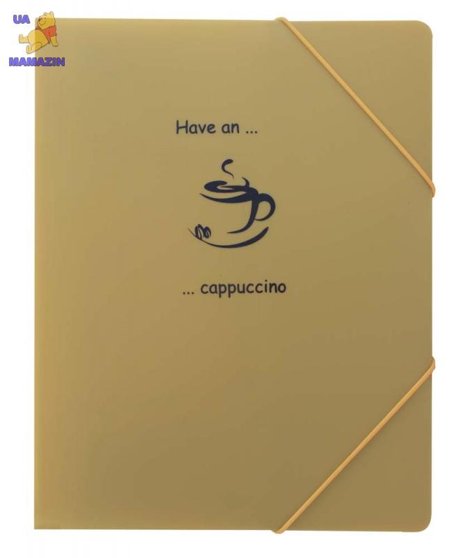 """Папка на резинке А4 """"Coffee break"""""""