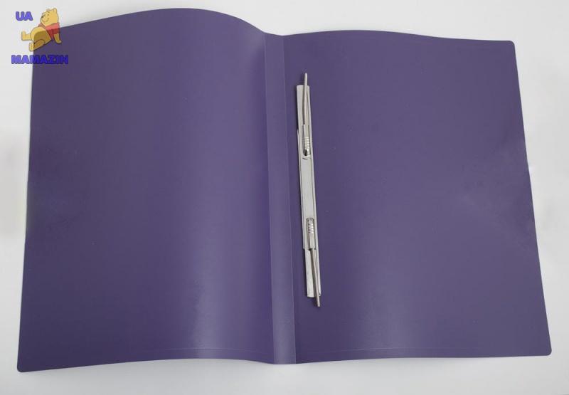Папка-скоросшиватель  А4 фиолетовая