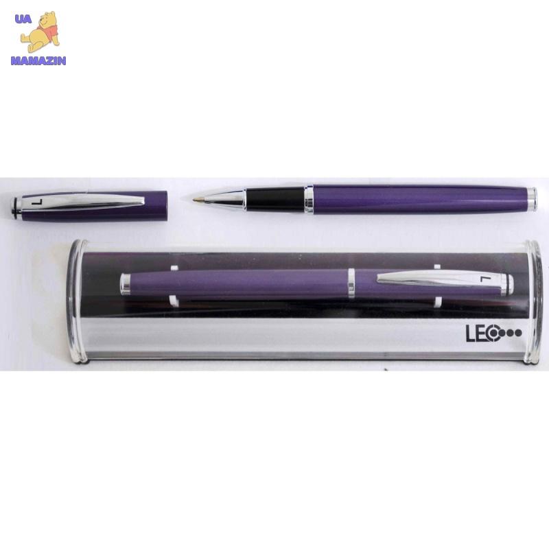 Роллер металлический фиолетовый твистер в подарочном футляреерный