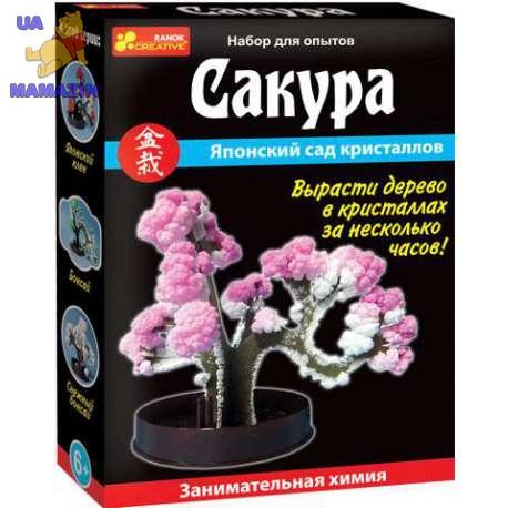 """Дерево из кристаллов """"Сакура"""", ТМ Ранок"""