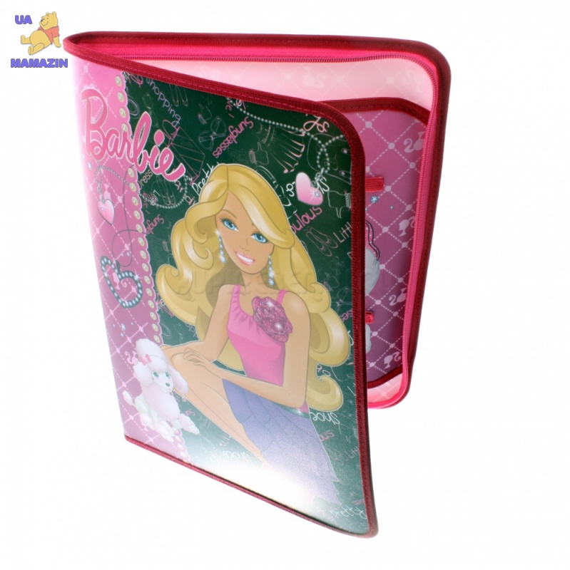 Папка для труда Kinderline Barbie