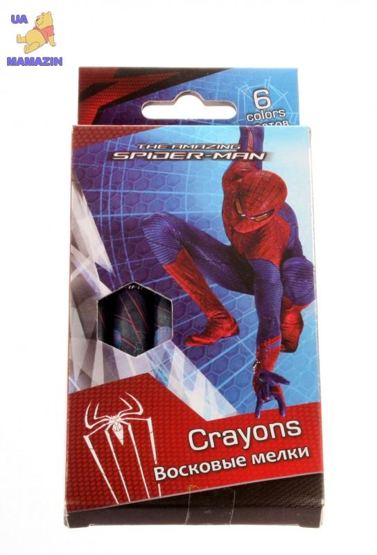 Мелки восковые Spider-man