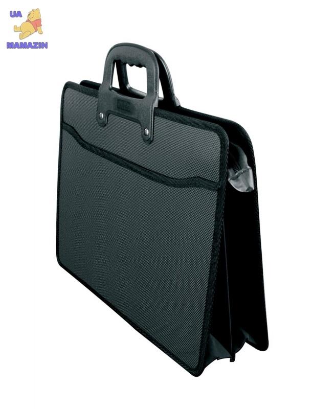 Портфель  F/C 2 отделения, черный