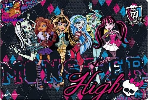 Подложка настольная, 60*40см. Monster High