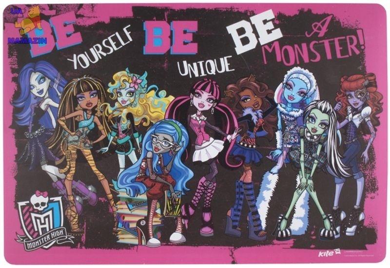 Подложка настольная Monster High