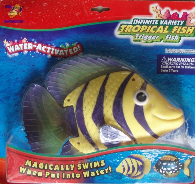 Водоплавающая рыбка
