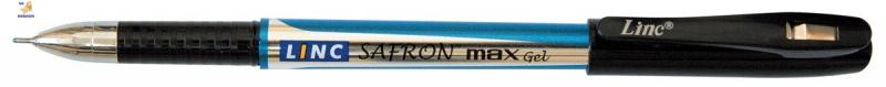 """Ручка гелевая """"Safron max"""" синяя 0,6 мм """"LINC"""""""