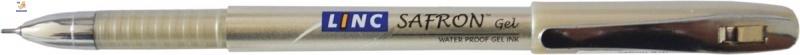 """Ручка гелевая """"Safron Gel"""" синяя 0,6 мм """"LINC"""""""