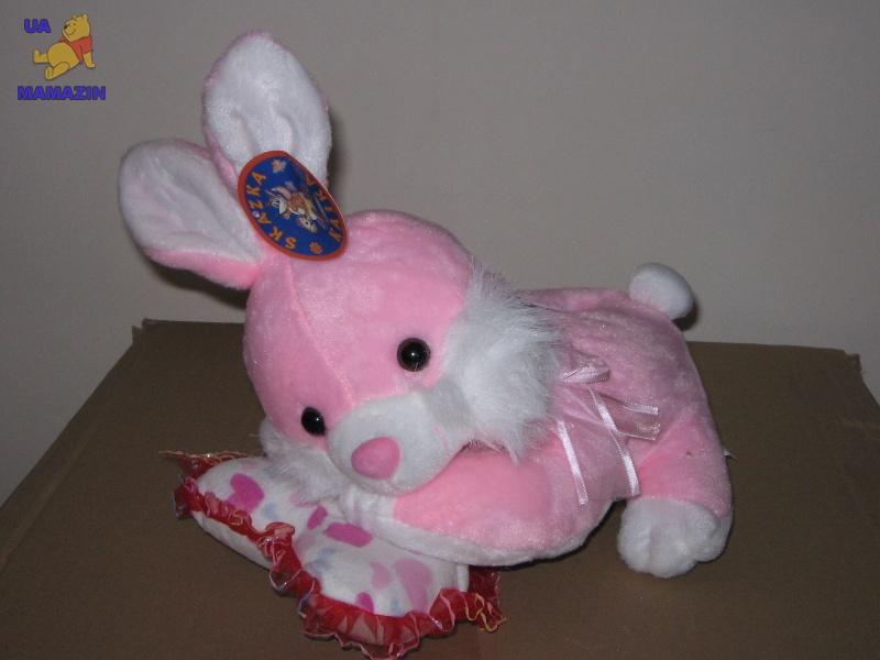 Копилка кролик на подушке