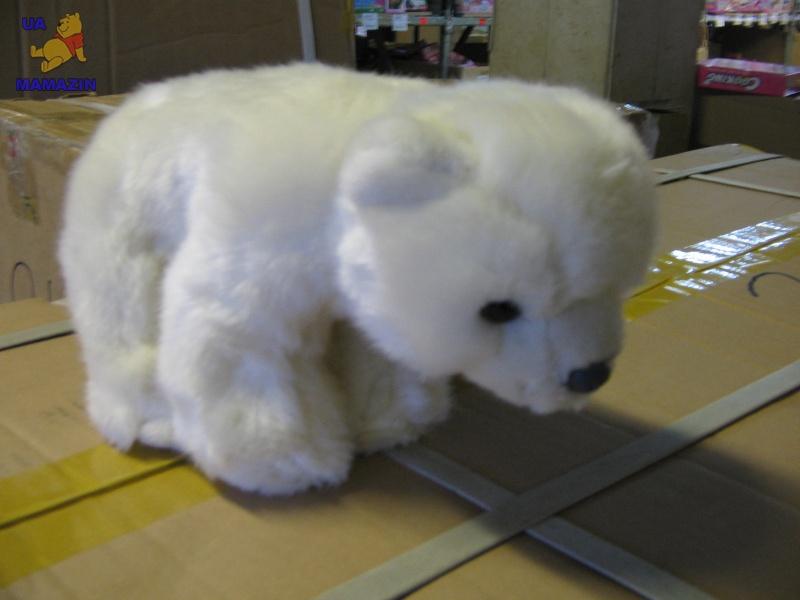 """Медведь полярный,белый, 7,5"""""""