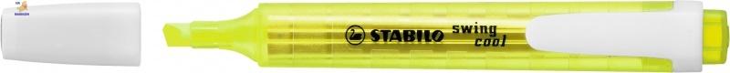 Маркер текстовый STABILO swing cool желтый