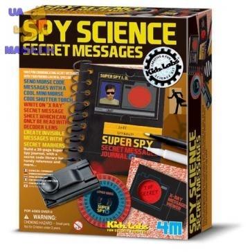 4M Шпионский набор Секретные сообщения