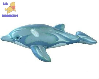 """Надувная игрушка """"Дельфин"""" 175см"""